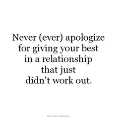 JGW always wants me to apologize for the relationship.  Guess what - it takes 6 to have a family.   May need to look to your royal other X for the majority of the issues that tore us apart.