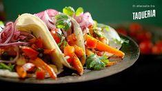Vegetartaco fra Taqueria Tacos, Mexican, Restaurant, Ethnic Recipes, Inspiration, Food, Biblical Inspiration, Eten, Restaurants