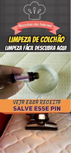 Por que jogar bicarbonato de sódio na cama? Descubra, aqui! #limpeza #colchão #bicarbonato #sódio #receita #receitas