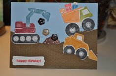 Stampin up Happy Dirtday!!