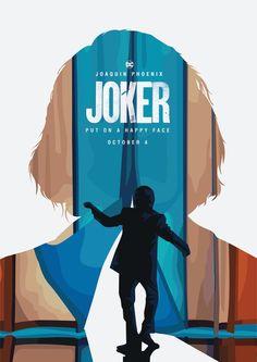 Inspired by Joker Movie trailer. Joker Film, Joker Comic, Joker Art, Classic Movie Posters, Movie Poster Art, Fotos Do Joker, Joker Poster, Joker Images, Film Poster Design