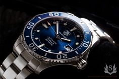 TAG Heuer Aquaracer--LOVE this watch!!!