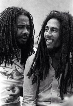 *Jacob Miller* & Bob Marley. More fantastic pictures and videos of *Bob Marley & Jacob Miller* on: https://de.pinterest.com/ReggaeHeart/