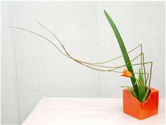 ikebana arrangement by Biku Designs