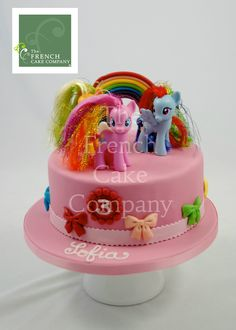 Childrens Birthday Cake - Gateau D'anniversaire Pour Enfants - Filles - Verjaardagstaart