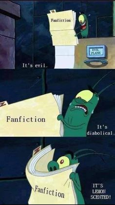 When I find a really good Fanfiction