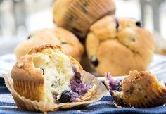 Könnyű áfonyás muffin Sweet Recipes, Cake Recipes, Muffin, Kefir, Sweets, Snacks, Baking, Breakfast, Food