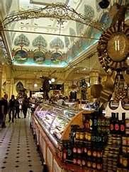Harrod's Food Hall in London is fantastic - I could have spent an entire day here