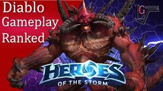 Heroes of the Storm - Diablo Ranked Gameplay (HotS Hero League)