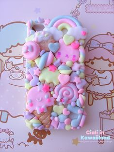 Kawaii Decoden Phone Case, Sweet Cookies Friend Phonecase for Iphone 5 6 7 8 X plus and Samunsg Galaxy 7 8 9 note Kawaii Phone Case, Decoden Phone Case, Diy Phone Case, Cute Cases, Cute Phone Cases, Iphone Cases, Accessoires Iphone, Sweet Cookies, All Things Cute
