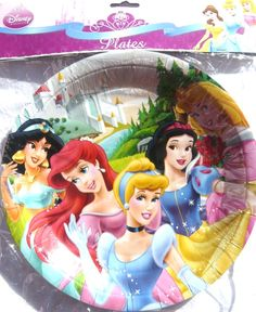 Disney Princess 2 Party Plates - 8 pack  sc 1 st  Pinterest & Disney Fairies Tinkerbell Fairy Party Hats - 8 Pack | Hats Horns ...