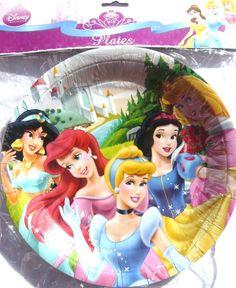 Disney Princess 2 Party Plates - 8 pack