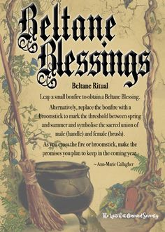 Did you know that Beltane, the Celtic Fire Festival on May is exactly opposite Samhain on the yearly wheel? Wiccan Sabbats, Wicca Witchcraft, Magick, Paganism, Green Witchcraft, Wicca Holidays, Wiccan Spell Book, Spell Books, Pagan Festivals