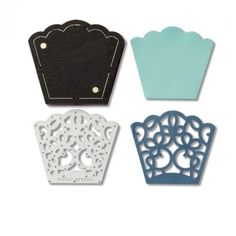 Sizzix Movers and Shapers Thinlits Bracelet Lace Section