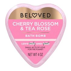 Essential Oil Bath Bombs, Rose Bath, Best Bath Bombs, Rose Face Mask, Acts Of Love, Beauty Must Haves, Blooming Rose, Sweet Cherries, Tea Roses