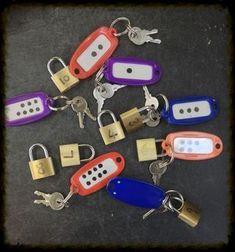 number locks and keys