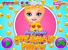 Mała Barbie całe dnie spędza na telefonie i pisze ze swoimi znajomymi używając buziek Emoji. http://www.ubieranki.eu/gry/3753/poduszka-emoji.html