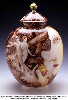 Ceramic art by Kurt Weiser