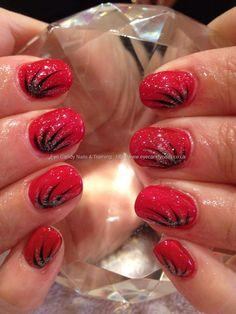 Crystal nails gel polish 101 with flick nail art
