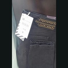 ZARA TRAULIFIC JEANS Dark denim skinny jeans Zara Jeans