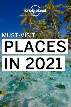 Wondering where to go in 2021? Here are just a few of the trending destinations to visit this year! From beach destinations to city escapes, here are the top destinations for your bucket list this year. Best Places To Travel, Places To Visit, Best Honeymoon Destinations, South Of The Border, Destin Beach, Great Smoky Mountains, Mexico Travel, Lonely Planet, Where To Go