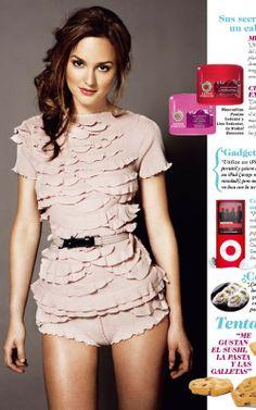Leighton Meester in Spanish Cosmopolitan  | leighton meester celebrity quotes