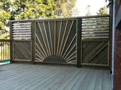 deck privacy wall | Privacy Screens Built by Flann Fence & Deck - Residential Specialists ...