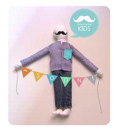 e para aqueles que querem um bigode igual ao pai...