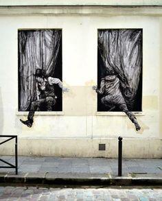 "Street Art Buzz @StreetArtBuzz  14 minhace 14 minutos [PHOTO] Artist : Levalet - "" https://twib.in/l/6bqELkrgjX5  #streetart #urbanart #design"