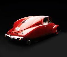 1938 Tatra T97 :: asaucerfulofwheels