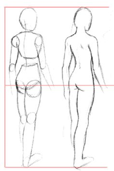 How to Draw Bodies. Body: Larger