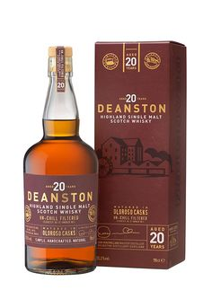 Deanston Launches Limited Edition Cask Strength 20 Year Old