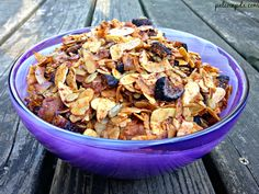 We recently started making granola again at home, per Jesse's request. We made it a couple weeks ago or I guess I should say he did -- he wanted to do it on his own. He picked out what he wanted at...