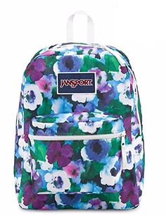 Amazon.com  JanSport Overexposed Backpack (AQUA DASH FLUORESCENT RED)   Sports   Outdoors 37eb350a82