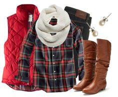 Try the bubble or faux fur vest for a quick and chic winter trend!
