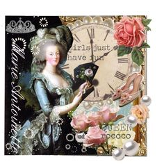 """""""Queen of rococo ---Marie Antoinette"""" by meg2 on Polyvore"""