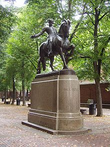Paul Revere was an blacksmith who's job was to warn if the british were coming. He would see if lanterns were hanging one by land two by sea. He rid and warned important people that the british would be coming.