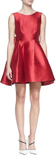 Kate Spade Sleeveless Mini Cocktail Dress With Large Back Bow ($428)