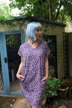 Cocoon Dress | Simple Sew Blog