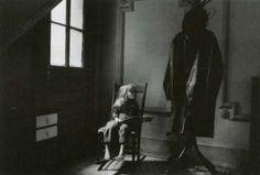 Duane Michals the Fallen Angel | René Magritte in Bowler Hat, 1965.