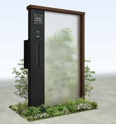 ルシアス シリーズ ウォール | YKK AP株式会社 Mail Boxes, Exterior Design, Arch, Outdoor Structures, Wall, Home, Gardens, Letter Boxes, Longbow
