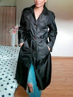 Jako nový Nosila jsem jako pláštěnku stačilo naimpregnovat Velikost S/M Neměním  #černýtrenčkot #trenčkot #cernykabatek