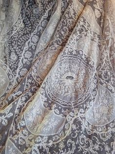 Absolutely stunning antique lace. I believe this is Normandy.