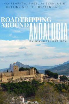 See the adventurous off-the-beaten-path side of Spain in Andalucia: Via Ferrata, Pueblos Blancos, Hiking, Roadtripping, and the Alhambra. More @ Wanderlustingk
