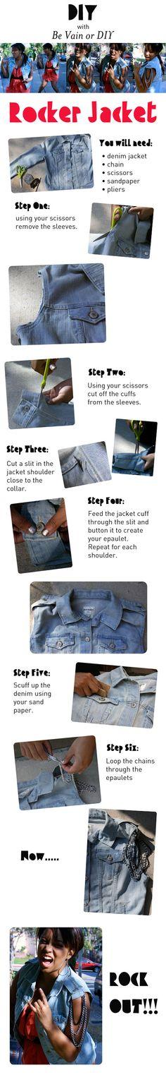 DIY rocker vest