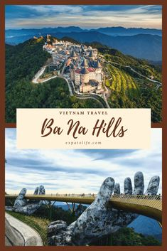 From Golden Bridge to French Village, discover best things to do in Ba Na Hills, how to get from Da Nang, Ba Na Hills tour & ticket price. Vietnam Travel Guide, Vietnam Tours, Asia Travel, Egypt Travel, Da Nang, Hanoi, Lonely Planet, Cool Places To Visit, Places To Travel