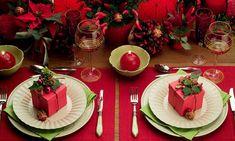 Decoracao De Mesa De Natal | Festa, Sabor & Decoração