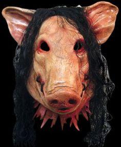 Scary Oinker Mask Pig Porky Halloween Clown Latex Mask Jason ...