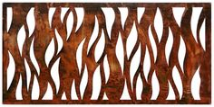 Be Metal Be Natural Screens Flames Laser Cut Decorative Steel Screen/Panel Outdoor Screen Panels, Outdoor Privacy, Laser Cut Screens, Laser Cut Panels, Decorative Screen Panels, Deck Railing Design, Laser Cut Steel, Flame Design, Shipping Container House Plans