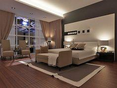 modern bedroom / nowoczesna sypialnia